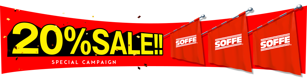 SOFFE 20%OFF